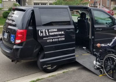 wheelchair accessible Taxi Toronto
