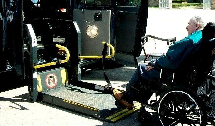wheelchair accessible transportation services
