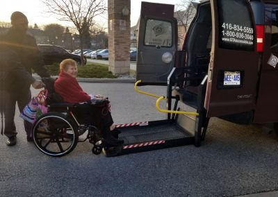 Wheelchair Taxi service Toronto On, Gta Wheelchair Taxi