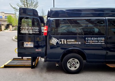 wheelchair accessible taxi and tranport toronto GTA