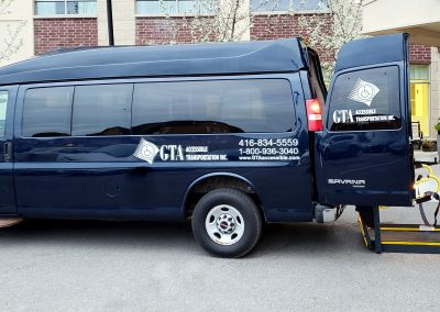 wheelchair accessible transporation, accessible taxi GTA