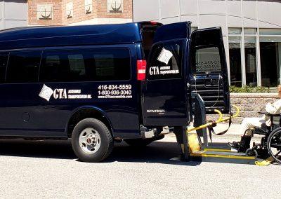 Accessible Taxi Toronto Gta wheelchair Taxi