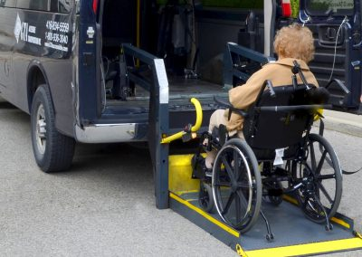 Accessible transportation for aging parents