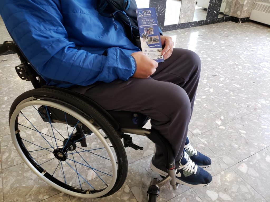 Accessible transportation Toronto Ontario
